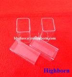 Pijp van het Glas van het Kiezelzuur van Manufacurer de Vierkant Gesmolten