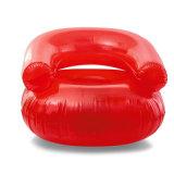 Fußball scherzt Größen-aufblasbaren Sofa-Stuhl für Baby