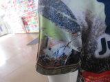 Custom más barato todo impreso de poliéster de 120 g de T-Shirt