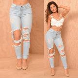 Джинсыов женщин джинсовой ткани конструкции Jean женщин джинсыы пригонки новых тонкие