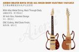 Ukulele elétrico acústico cordas Ukelele da guitarra 4 de 26 polegadas