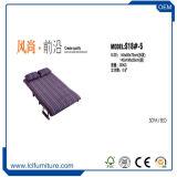 Bâti de sofa de tissu de sommeil de couleur de Brown, meubles bon marché de sofa de salle de séjour