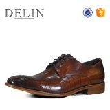 Fábrica OEM más populares de los hombres Zapatos Zapatos de Vestir para hombres