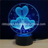 愛中心3D LED夜ライトAromatherapyランプ