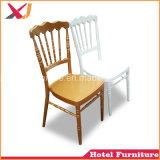 도매 백색 합금 수지 옥외 호텔 결혼식을%s 플라스틱 Tiffany Chiavari 의자