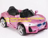 Véhicule électrique de bébé à télécommande de couleur rouge de vin de BMW