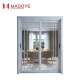 Porte coulissante élégante en verre Tempered pour la résidence classieuse
