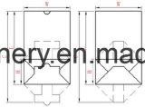[تووش سكرين] [بلك] تحكّم مربع قعر [ببر بغ] يجعل آلة, [غروسري بغ] ورقيّة يجعل آلة