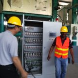 Angola dat de Kant en klare Machine van de Molen van de Maïs van het Project 120t/24h in werking stelt