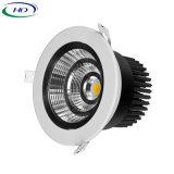 15W/20W Hot vender COB Serie B Downlight LED ajustable