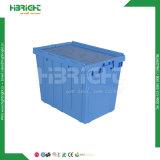 Caisses en plastique se pliantes claires de mémoire avec la porte latérale