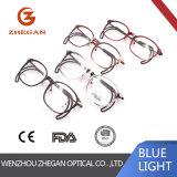 Bâti optique de l'Italie de modèle de plein de RIM en métal en verre de marque monocle confortable populaire neuf de lunetterie