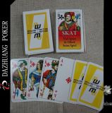 Cartões de jogo do Spiel de Skat Viel Spass Gluck Beim