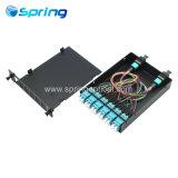 24 coeurs PSG MPO Cassette de fibre optique de modules pour MPO PSG des solutions de système de fibre optique