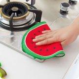 台所のためのMicrofiberの台所ワイプの漫画の円形タオル