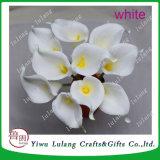 Cerâmica Branca artesanais Calla Lily Flower banda decorativa