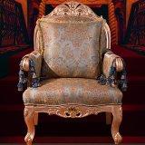 Sofá de madera con Sofá muebles para el hogar (962)
