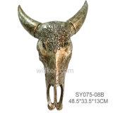 도매 벽 훈장 동물성 두개골 버팔로 두개골 동물