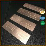 Логос металла высокого качества маркирует Nameplate с низкой ценой