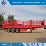 Gemaakt in China 3 de Staak van de Nuttige lading van de As 40t/de Semi Aanhangwagen van de Omheining voor Vervoer van het Vee van de Lading