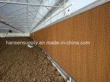 Sistema de refrigeração a água de Cortina molhado almofada de resfriamento para a Granja