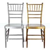 Stapeln Stuhls Aluminiumeisen-des Stahlhotel-Bankett-Hochzeits-Tiffany-Chiavari