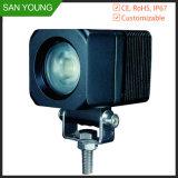 Hml-0810 Hanma 10W luz LED de trabajo para los camiones Vehiles