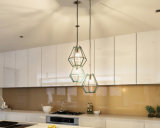 Alto armadio da cucina poco costoso di lucentezza del nuovo modello