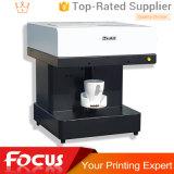 Kaffee-Drucker des Fokus Ediable Tinten-Kuchen-DIY Selfie Digital Latte