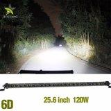 LEIDENE van de Rij van de Vrachtwagen 14inch van de Auto van de hoogste Kwaliteit Offroad 60W Enige Lichte Staaf