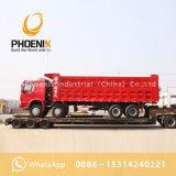 De gebruikte Kipper van de Vrachtwagens van de Stortplaats van Sinotruk HOWO met Goede Voorwaarde voor Afrikaanse Markt