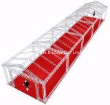 200X200 aluminio espiga armazón cuadrada braguero