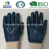Guanti rivestiti di Work&Safety dei guanti del nitrile resistente