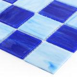 浴室の装飾的な溶かされた着色されたガラスモザイク・タイル