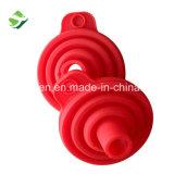 Sans BPA plié en silicone de cuisine design moderne entonnoir de silicone