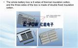Hochleistungs--Lithium-Titanat-Batterie-Satz für schwere Eingabe-Transport Acvs