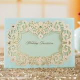 Изготовленный на заказ карточка приглашения венчания печатание с охваывает