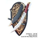Senhor do senhor da espada de Elven do punhal de Aragorn dos anéis da espada 53cm Jot031A do anel