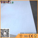 Weißes überholtes Furnier-Blattgesichts-Furnierholz für Dekoration-Möbel