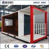 Camera economica prefabbricata del contenitore del pacchetto piano per l'adattamento dell'operaio