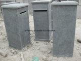 Neuer dekorativer Kalksteinpostbox-im Freien schnitzende Steinmailbox