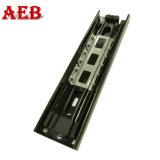 Guía de Cajón caja metálica de rodamiento de bolas 45 mm guía de deslizamiento del canal de acero