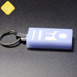 Commerce de gros de bonne qualité personnalisé en PVC de promotion de la chaîne de clés personnalisées