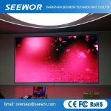 P10mm Affichage LED à l'intérieur de l'écran HD avec module de 320*160 mm