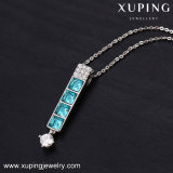 Women를 위한 43592 Xuping Bar Designs Crystals From Swarovski Luxury Necklace Jewelry