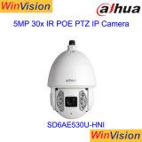 Dahua 5MP 30x 200m de seguimiento automático de infrarrojos Cámara IP PTZ SD6AE530U-Hni