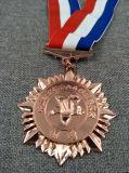 Высокое качество умирает медаль отрезанное бросанием вне покрынное эмалью