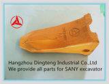 Dientes superiores No. 60142873p del compartimiento de la marca de fábrica de los recambios de los excavadores de Sany de China