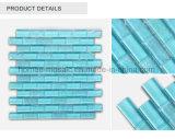 Carreaux de mosaïque de la piscine en mosaïque de verre cristal bleu pour piscine