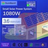 1kw 위원회 3.6kwh 1일 소비량 작은 태양 에너지 시스템